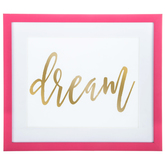 Dream Framed Wall Decor